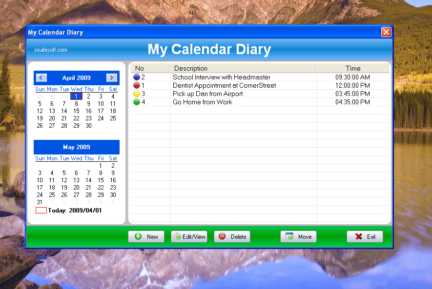 Calendar Diy Software : Minimum system requirements